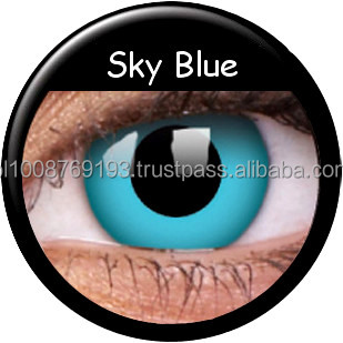 38f08b6c46439a Colourvue Crazy Lenses Sky Blue 2pk Maxvue Vision - Buy Crazy ...