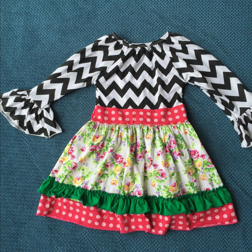 e357b584e Cx-024 Wholesale Normal Frock Designs For Girls Well Dresses Wolf In ...