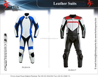 professional motorcycle Leather Suit for men