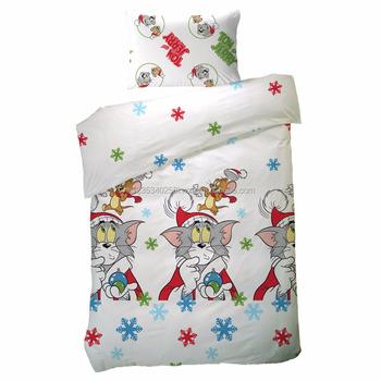 Tac Tom Jerry Weihnachts Bettwäsche Set 100 Baumwolle Doona Quilt