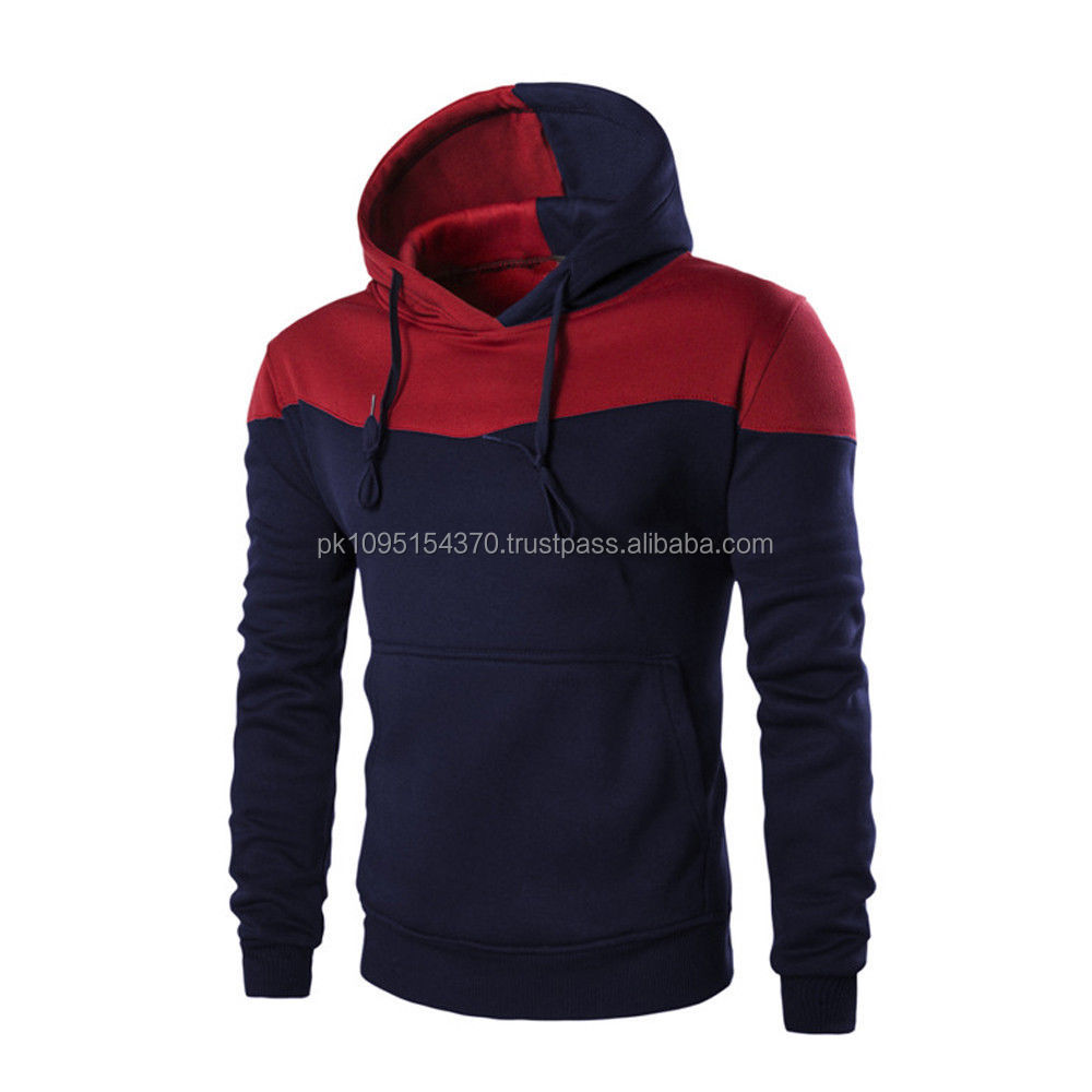 Mens Winter Slim Hoodie Outwear Sweater