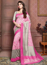 Casual wear sarees blouse ontwerp-Saree indian fashion-Saree groothandel in surat-Saree in indian cultuur 0 wert