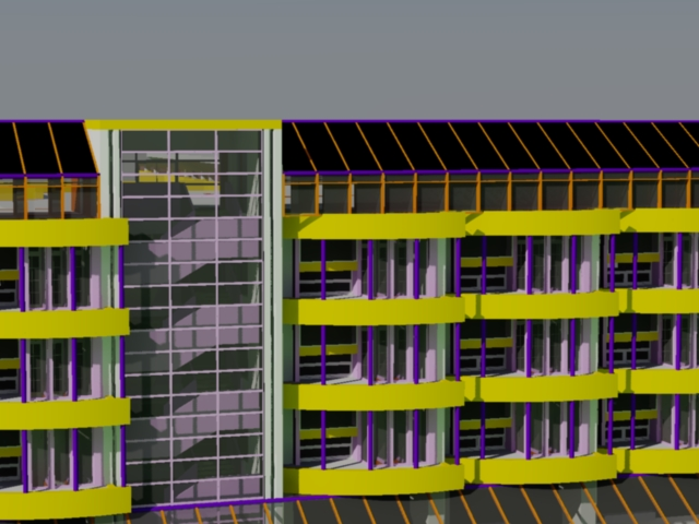 TID0 secondary school - 3d dwg files for AutoCAD 2013