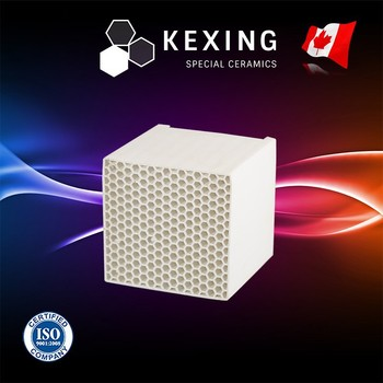 Aluminum Porcelain Honeycomb ceramic heat exchanger