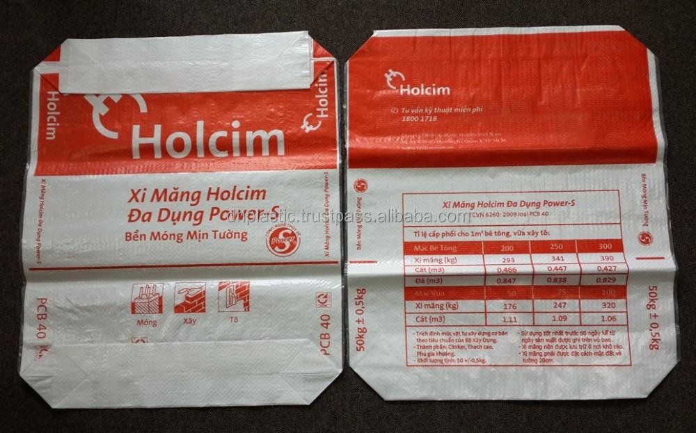 Pp Ad Star Cement Valve Bag 25kg,40kg,50kg