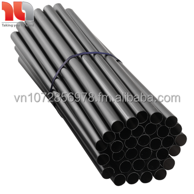 Disposable plastic drinking straw