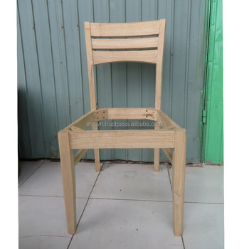 Wholesale Furniture Unfinished Wooden Chair Frame Buy Wooden