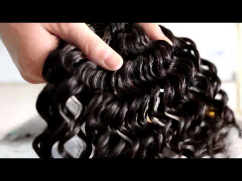 Unprocessed 100% human Hair weave cheap - Afro hair quick weave virgin hair weft