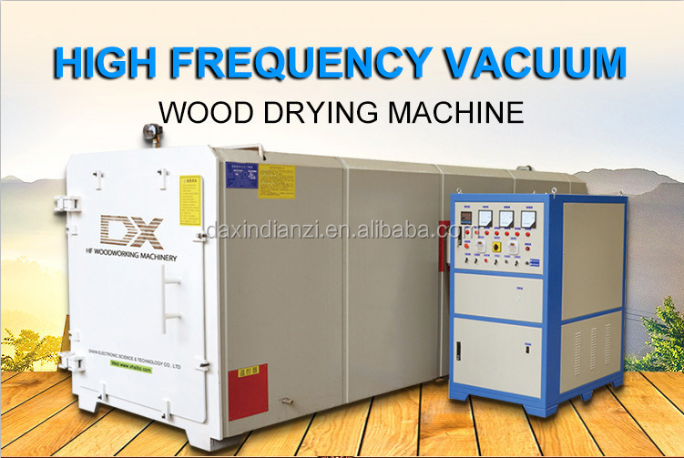 2016 China latest designed wood drying high frequency vacuum dryers