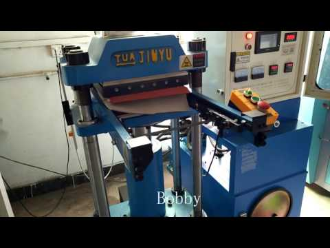 fabric embossing machine for car mat, chair mat, sofa