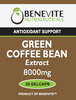 Benevite Nutraceuticals Green Coffee Bean Extract 8,000mg