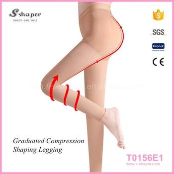 Black Women Pantyhose Tight Sexy Dispensing Spots Self Heating Warm Leg Slimming Health Care Black