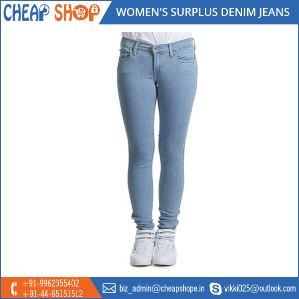 Wide Range of Low Price Surplus Denim Available for Women