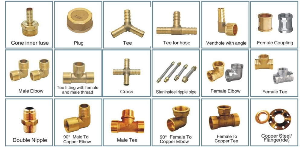 Plumbing fittings names and pictures pdf brass adapter