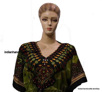 a4425948f7 Indian Full Length Plus Size Kaftan Kimono Long Dress Gown Robs Sleep Beach  Wear