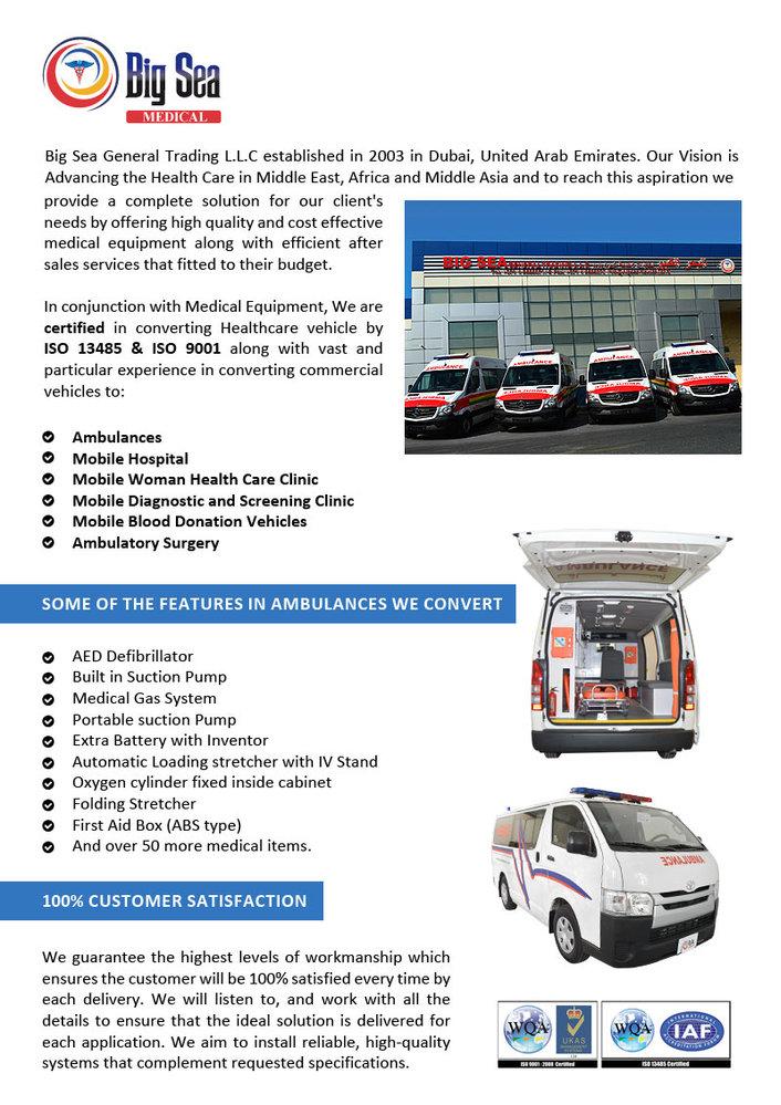Mercedes Ambulance, Mercedes Ambulance Suppliers and Manufacturers ...