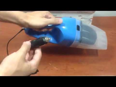 TrendBox Blue 12V Car Use Plug Hand Held Vacuum Cleaner Dust Catcher Hoover Home Cleaning Tools Rem