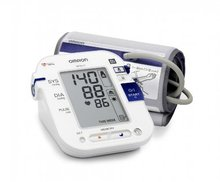 Omron M10-IT Upper Arm Blood Pressure Monitor with Dual-User Facility and Dual-Size Cuff