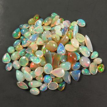 4*6mm ethiopian opal stone price, Ethiopian opal smooth polished oval cabochon loose Gemstone