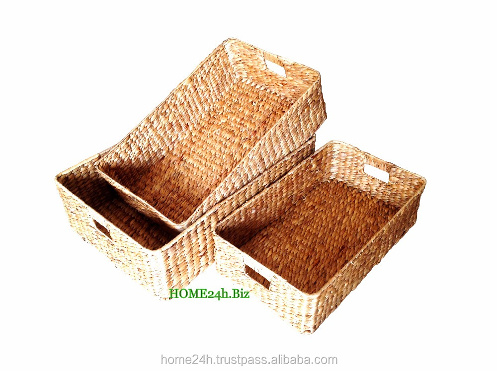 Home Bask Vietnam Crafts Best Selling Seagrass Water Hyacinth ...
