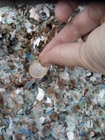 Pet Bottle Flakes Fines Recycled Plastic Scraps