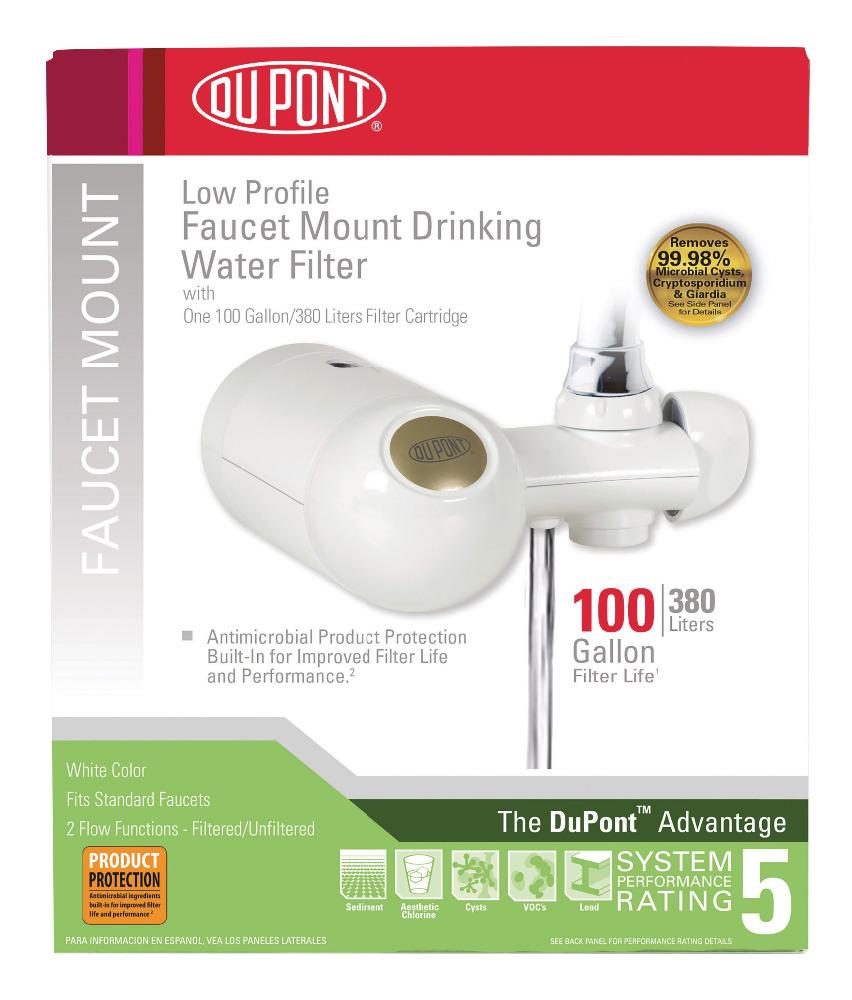 Dupont Fm300xw Premier Faucet Mount Horizontal 100-gallon Capacity ...