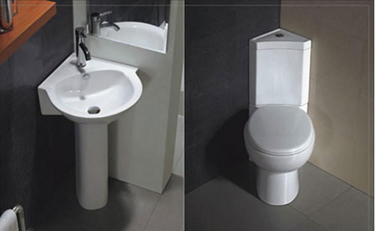 Européenne De Luxe En Céramique Deux Pièce Wc Coin Toilette - Buy