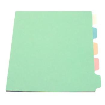 binder index dividers 5 colored tabs buy index tab divider paper