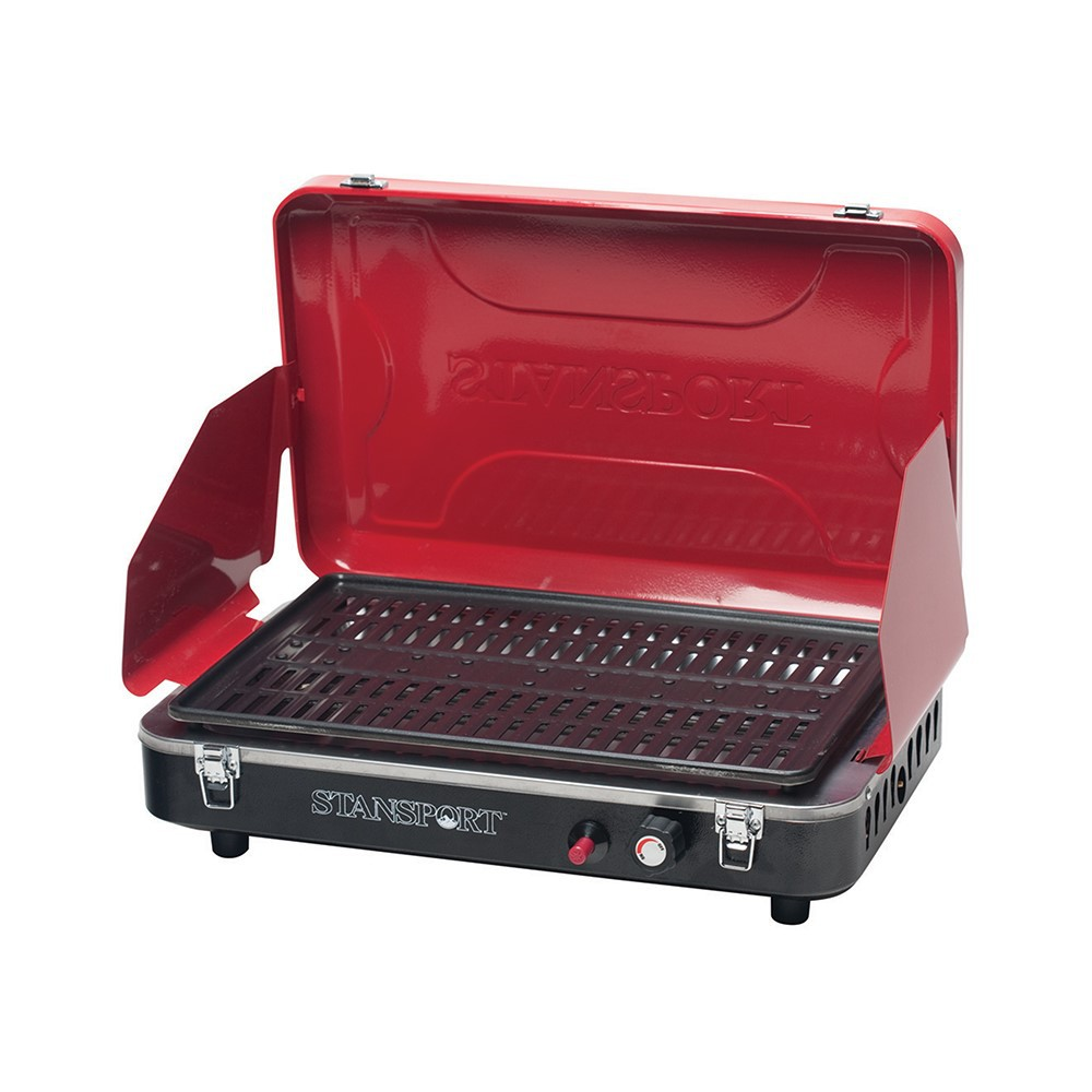 PROPANE GRILL STOVE WITH PIEZO - RED #203-900-60
