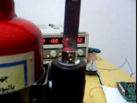 Controlling a fire extinguisher handle using an electro magnetic solenoid valve