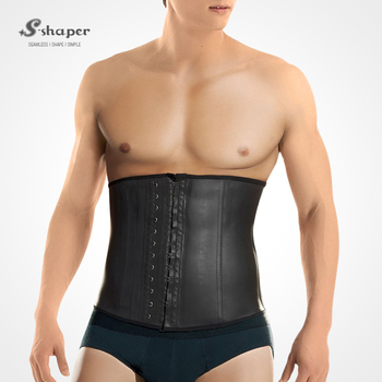 e6f4f814e7 S-SHAPER New Wholesale Colombia 2031 Men`s Latex Waist Trainers Fajas  Rubber Slim