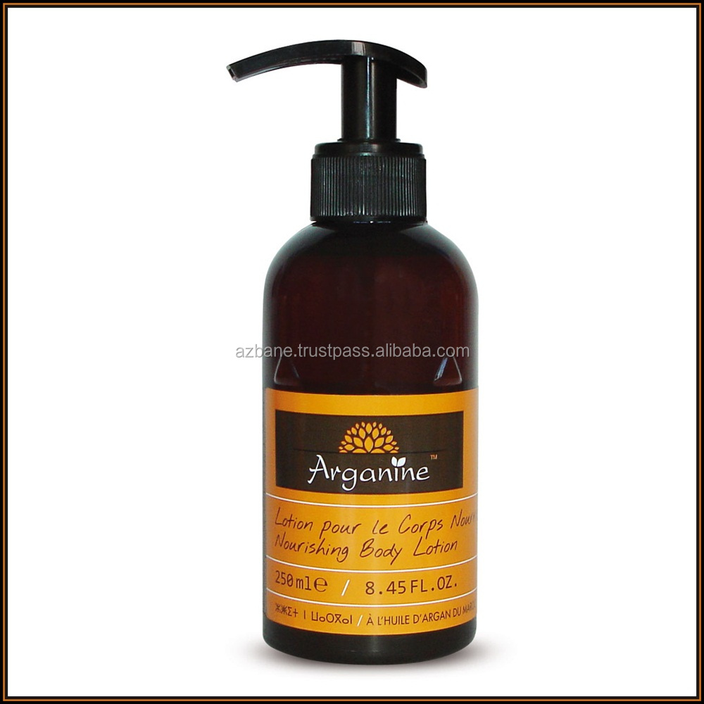 Hot Sale 100% Organic Argan Oil Body Lotion For Skin Daily Care