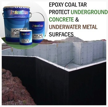 Epoxy Coal Tar Paint Protect Underground Concrete Underwater Metal Surfaces Jis Standard Jona