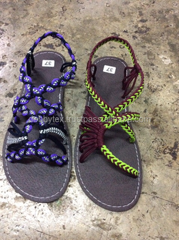 cb9cb3c97961b5 Dobbytex DBTS2 Handmade rope Sandals Shoes Hill tribe   Hmong   Summer    African