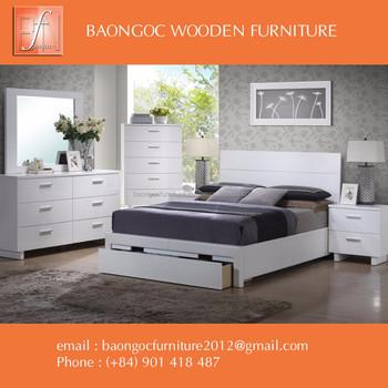 White Birch Bedroom Furniture In Vietnam