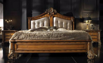 luxury bedroom furniture italy carved wooden bed sets french style modern wooden bedroom beds - Luxury Bedroom Sets Italy