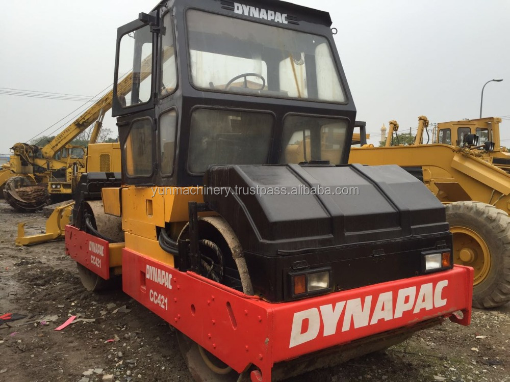 Used Dynapac Road Roller CC421 Original Sweden Machine Best Price