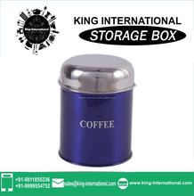 Indian Stainless Steel Coloured storage Box s