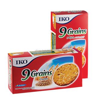 Iko Oat Cracker/biscuit 9 Grains