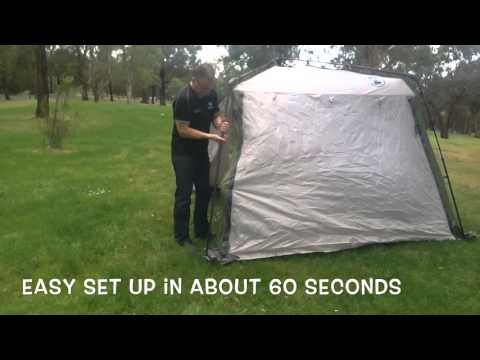 Get Quotations Coleman Instant Up Screen House Gazebo Shelter With Awnings