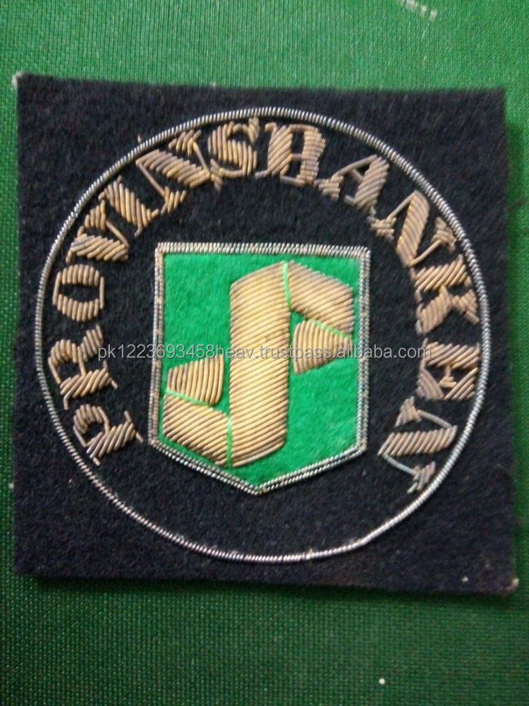 Special custom Embroidery Design Patches Military Badge Embroidery Badge Factory Outlet