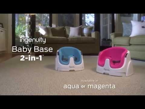 Booster Seat - Ingenuity Baby Base-Baby Bud 3 Stage Booster Seat from Mamas & Papas