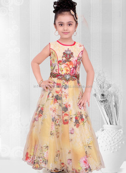 b12d1574a3bc Indian Ready Made Kids Dress Fashion Kids Clothing New Simple Frock ...