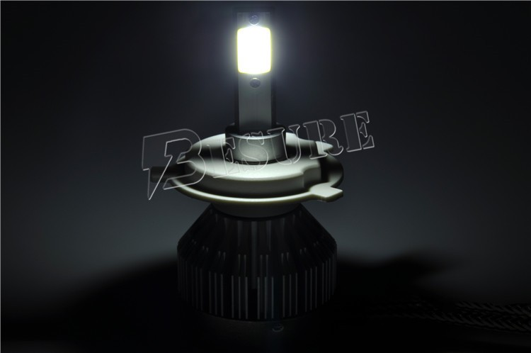 2017 New IP67 3000K 6000K 12V 30W 3000LM High Low Beam High Power Automotive Car H4 LED Bulb