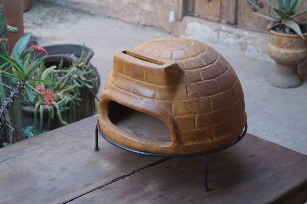 Forno a legna per pizza in pietra portatile altri for Forno a legna usato da giardino