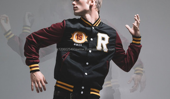 4c4629d1c45 winter outdoor windproof black adults man varsity jacket plus size with fashion  lookMOQ  50 Pieces