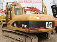 Strong condition caterpillar 320c hydraulic excavator