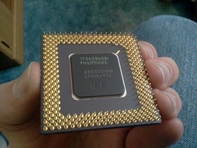 Cyrix 586 Ceramic Cpu Processor Scrap With Gold Pins