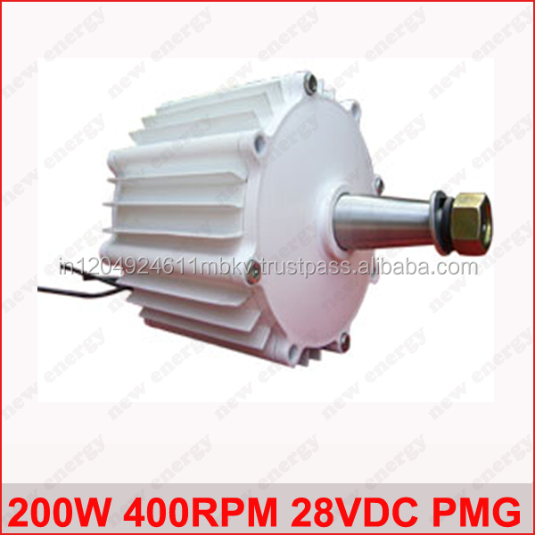 Alternators of Wind Turbines