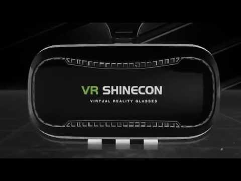 VR BOX Vr Shinecon 3d Glasses Headset Virtual Reality 3D Glasses Helmet For iPhone
